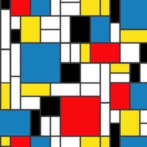 Mondrian's abstract trees