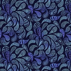 Zen Paisley blues