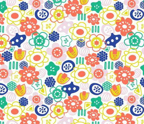 SCANDINAVIAN fabric by ccapone on Spoonflower - custom fabric