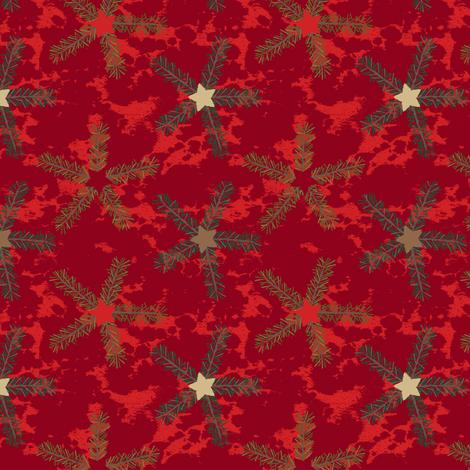 Scandinavian Christmas Stars Classic fabric by wickedrefined on Spoonflower - custom fabric