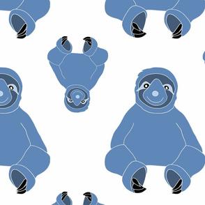 Snuggly Sloth - Blue