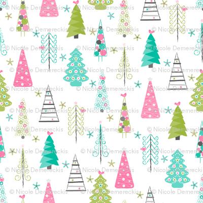 Scandinavian Christmas Trees Modern