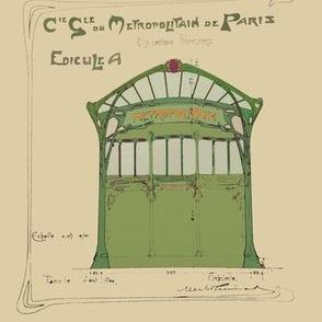 Magical Subway of Paris