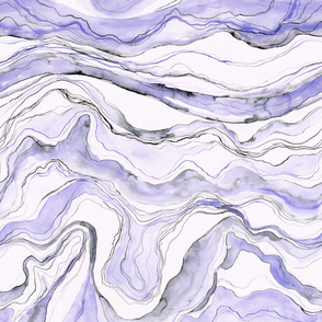 Purple marble, waterolor marbled stone texture