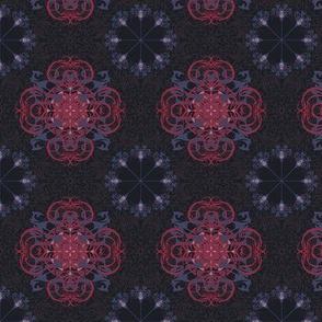 StacyCK Studio - Colors of the hydrangea - Repeat Design
