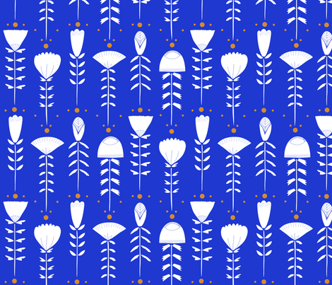 Scandinavian Florals fabric by alicemoore on Spoonflower - custom fabric
