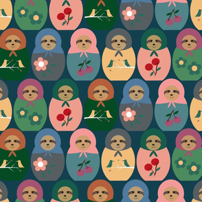 Matryoshka Sloths