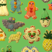 Cookie Friends green
