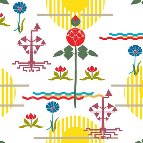 Swedish Modern Floral 2