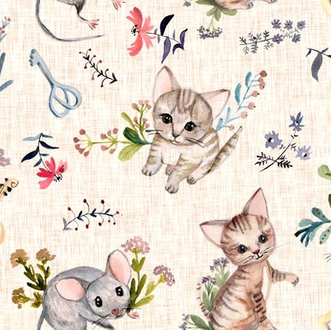ragcsaloim viraggal fabric by gomboc on Spoonflower - custom fabric