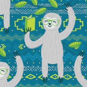 Reading Sloths