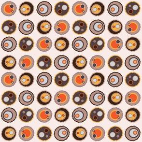 Retro Target Style Polka Dot
