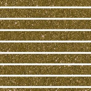 Gold Glitter Stripe