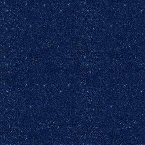 Plain Blue Glitter