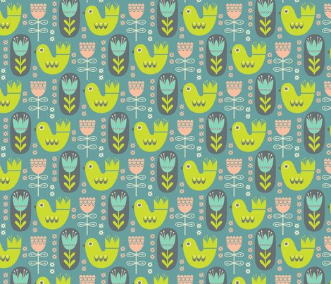 Rrrrrrrrscandinavian-garden-on-teal-pink_shop_preview