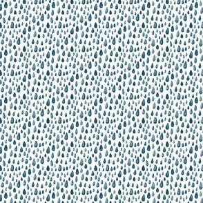 Tiny Water Rain Gray Blue Baby Boy _ Miss Chiff Designs