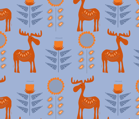 Scandielch fabric by pain_d'epices on Spoonflower - custom fabric
