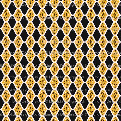 Trendy Leaf Diamond Stripes CT18_pattern_seaml_stock