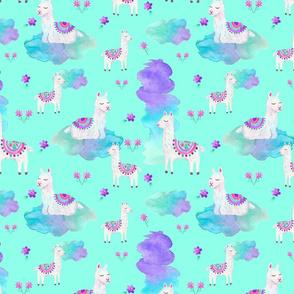 Lazy Llamas Clouded Mint