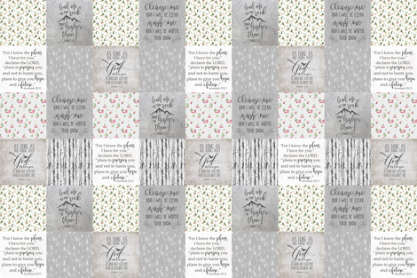 Lead Me to the Rock fabric by lacklandacres on Spoonflower - custom fabric