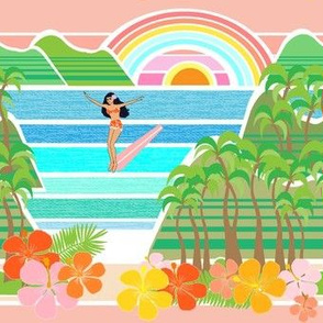 surfer girl island