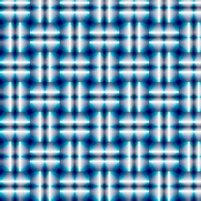 Blue Steel Basket Weave