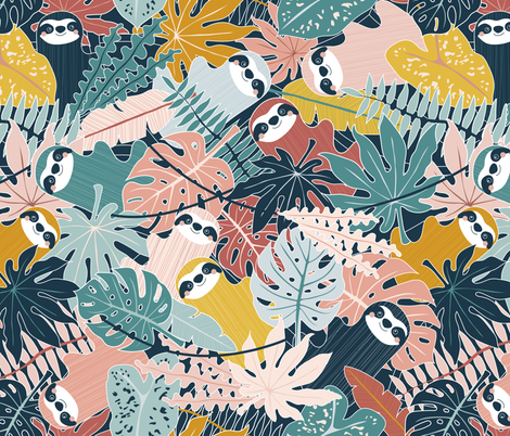Canopy Company fabric by nanshizzle on Spoonflower - custom fabric