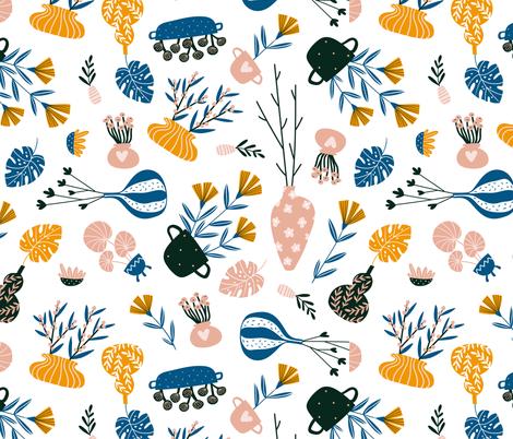 Scandinavian interior fabric by alenkakarabanova on Spoonflower - custom fabric