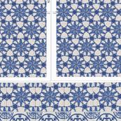delft blue pillow cutnsew