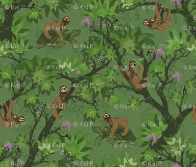 Sloth Forest and Friends