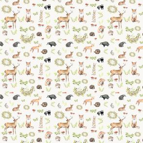Create Christmas Woodland Animals-3
