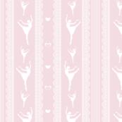 Ballerina sihouette lace