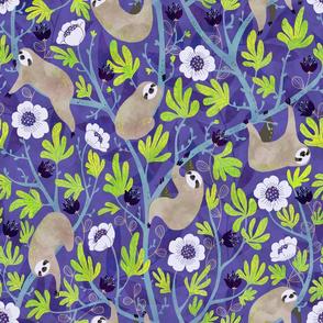 sloths-purple