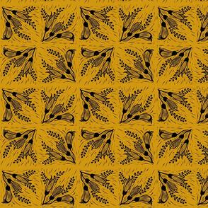 Kowhai black mustard