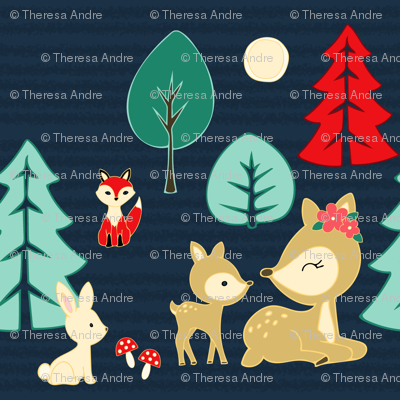 Forest Animal Friends