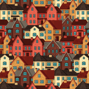 Cliffside Village Fall Colors