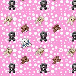 TINY Pocket DOODLES Pink-ed