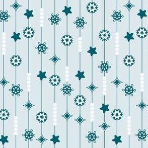 Winter Snowflake Garland