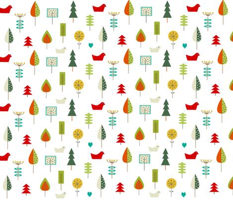 scandinavian motif benedicte barrett fabric by b_barrett on Spoonflower - custom fabric