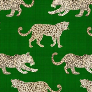 Leopard Parade green
