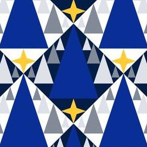 08289010 : wintry triangle peaks