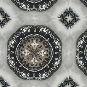 Pocket Watch Steampunk Rosette