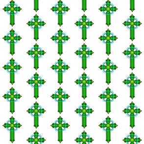 Legendary Cross Brigids Mantle White
