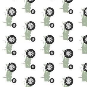 tractors - sage (90) C18BS