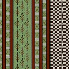 inca weaves green