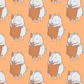 Bull Terrier Hugs