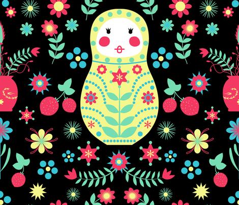 Scand fabric by fuzzyfox on Spoonflower - custom fabric