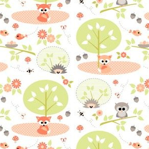 woodland babies - small