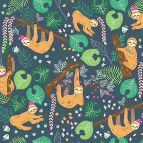 Santa Sloths