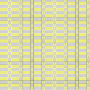 2018 inca check yellow gray